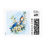 Two Bluebirds Postage