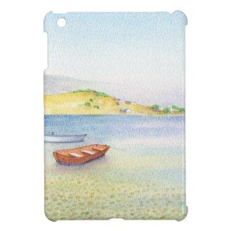Two boats inn Greece iPad Mini Covers