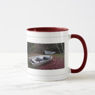 Two Boats Mug