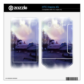 Two Boats Skins For HTC Inspire 4G