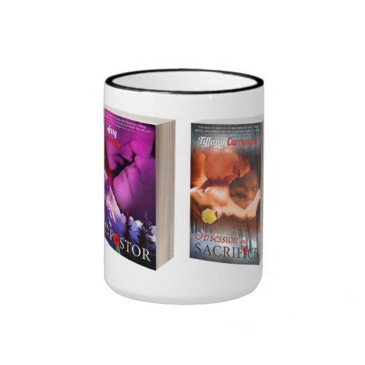 two book cover mug