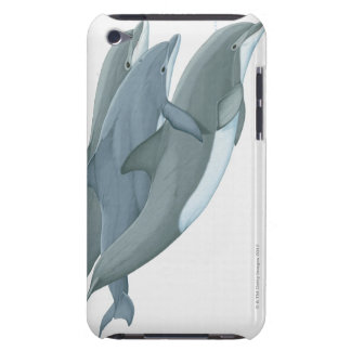 Two Bottlenosed Dolphins iPod Touch Case-Mate Case