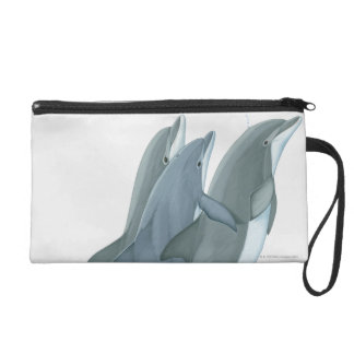 Two Bottlenosed Dolphins Wristlet