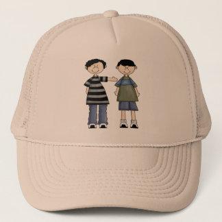 Two Boy Pals Trucker Hat
