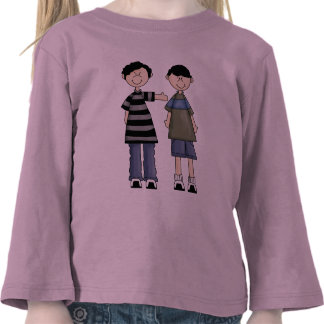 Two Boy Pals Tshirt