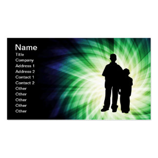 Two Boys; Family Double-Sided Standard Business Cards (Pack Of 100)