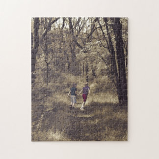 Two Boys On a Forest Path Puzzle