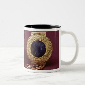 Two bracelets, from the Tomb of Tutankhamun Two-Tone Coffee Mug