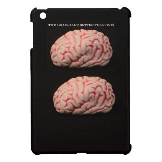 Two Brains are Better than One Cover For The iPad Mini