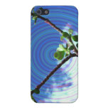 Two branches plant with spiral.jpg case for iPhone 5