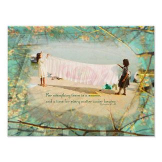 Two Branching Out inspirational photo Art Poster