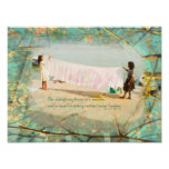 Two Branching Out inspirational photo Art Posters