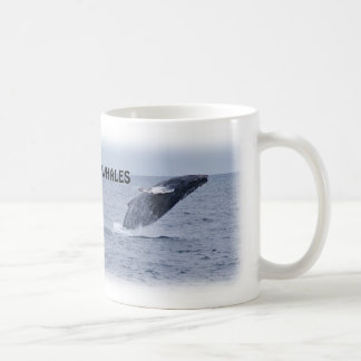 Two Breaching Humpback Whales Mug