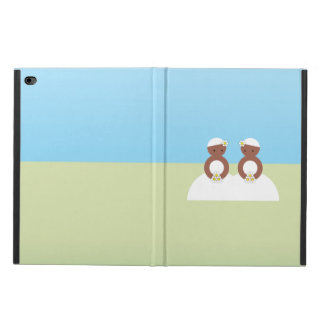 Two brides, both colored powis iPad air 2 case