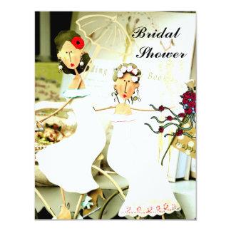 Two Brides Bridal Shower Invitation