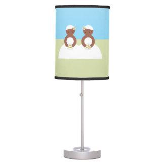 Two brides desk lamp
