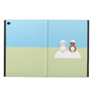 Two brides, one caucasian, one colored powis iPad air 2 case