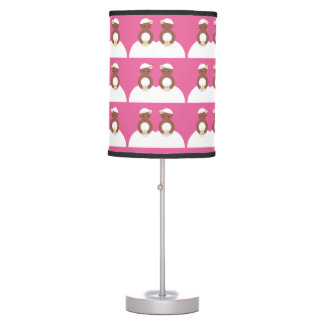 Two brides table lamp
