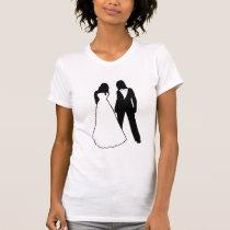 Two Brides Wedding T-Shirt
