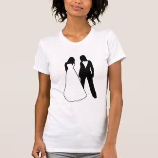 Two Brides Wedding Tshirts