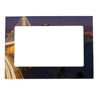 Two Bridges San Francisco–Oakland Bay Bridge Magnetic Picture Frame