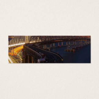 Two Bridges San Francisco–Oakland Bay Bridge Mini Business Card