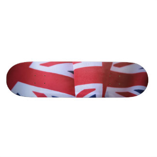 """two British flags 7-3/4"""" skateboard"""