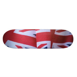 """two British flags skateboard 8-1/2"""""""