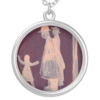 Two brothers and a little sister necklace