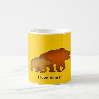 Two Brown Bears Mug