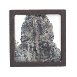 Two Buddhas of Ankor Wat .jpg Gift Box