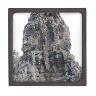 Two Buddhas of Ankor Wat .jpg Keepsake Box