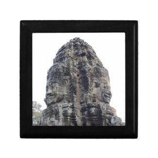 Two Buddhas of Ankor Wat  Keepsake Boxes