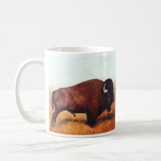 Two Buffalo Paintings Coffee Mug