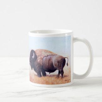 Two Buffalo Paintings Mug