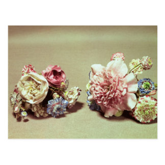 Two bunches of Vincennes flowers Postcard