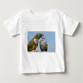 Two Burrowing Parrots Baby T-Shirt