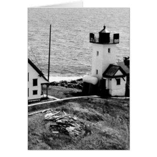Two Bush Island Lighthouse Card