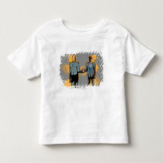 Two businessman shaking hands t-shirt