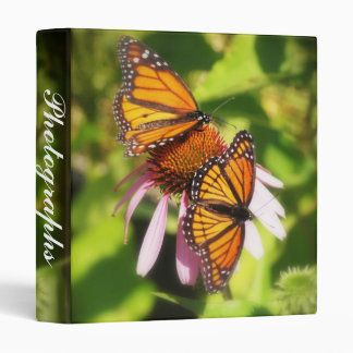 Two Butterfiles Photo Album 3 Ring Binder