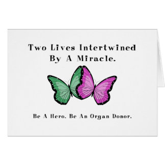 Two Butterflies Are One Cards