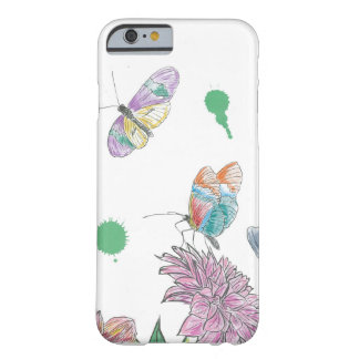 Two Butterflies Barely There iPhone 6 Case