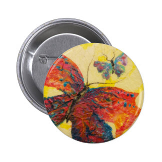 Two Butterflies Pinback Button