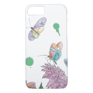 Two Butterflies iPhone 8/7 Case