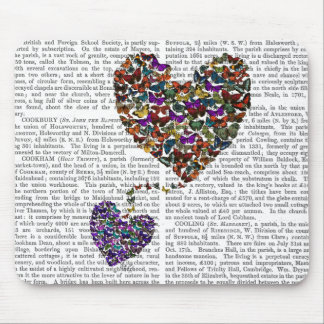 Two Butterfly Hearts Mouse Pad