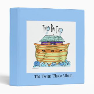 Two By Two Album 3 Ring Binders