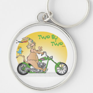Two by Two Key Chain
