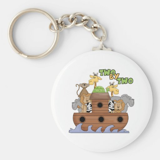 Two By Two Keychain
