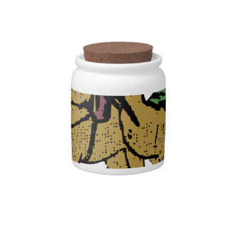 Two Camel Guys Candy Jar