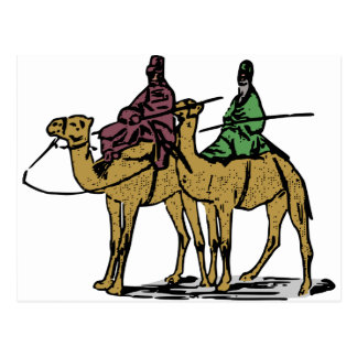 Two Camel Guys Postcard